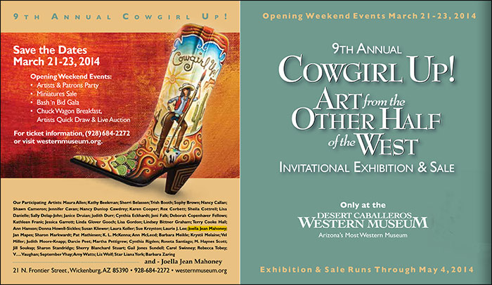 Cowgirl Up 2014 - Art from the Other Half of the West